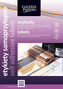 Etykiety samoprzylepne UNI CD