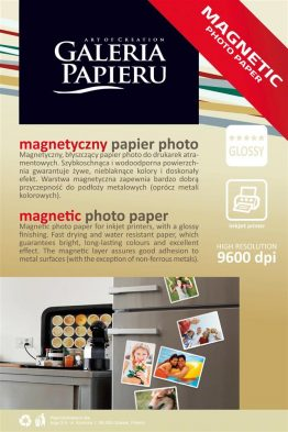 Photo Paper 10×15 magnetic