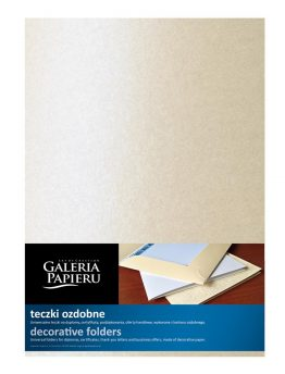 Metallized Folder Cream