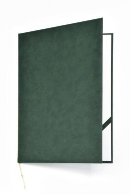 Okładka na dyplom Royal zielona