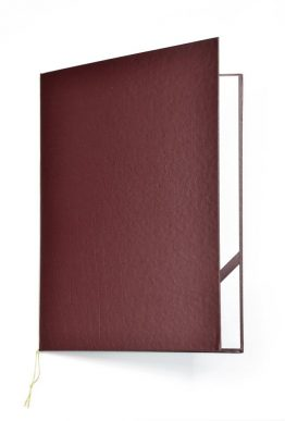 Diploma Cover Standard Bordeaux