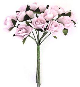 Kwiaty bukiecik Róże różowy