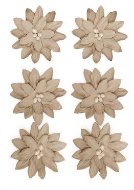 Kwiaty Dalia beżowy