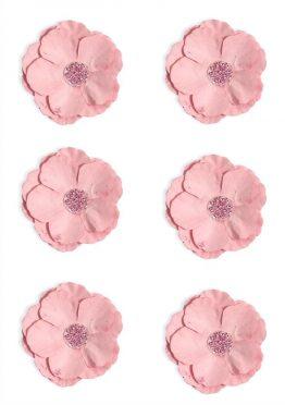 Kwiaty Clematis różowy