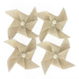 Fabric elements Pinwheel beige