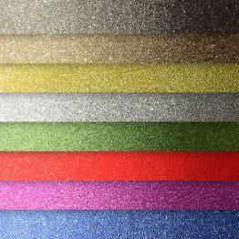Arkusz brokatowy samoprzylepny mix kolorów