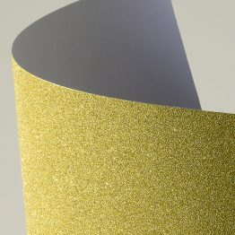 Glitter self-adhesive card paper gold