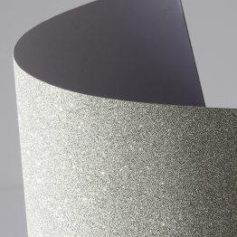 Самоклеющаяся бумага с глиттером серебро