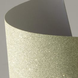 Glitter self-adhesive card paper light gold