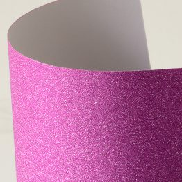 Glitter self-adhesive card paper pink
