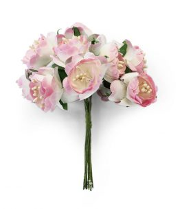 Kwiaty bukiecik Piwonia różowy