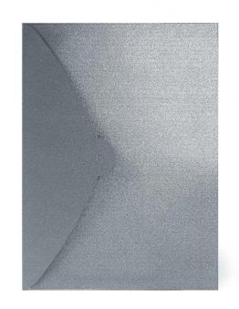 Папка-конверт серебро