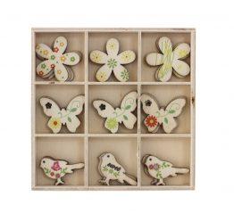 Pudełko Ptaki i Motyle