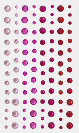 Kryształki czerwone