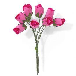 Kwiaty bukiecik Tulipany różowy