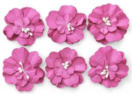 Paper Flowers Zinnia pink