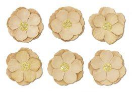 Paper Flowers Clematis beige