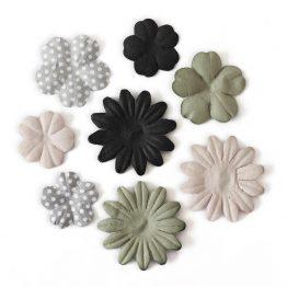 Kwiaty Płatki mix beżowy