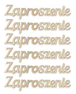 """Napisy """"Zaproszenie"""""""