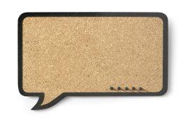 Tablica korkowa Dymek prostokątny 44x29cm
