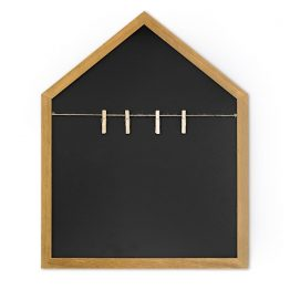 Chalk Board House with clips