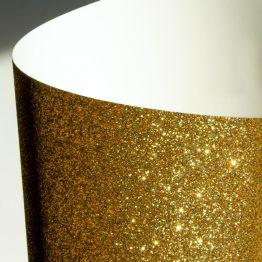 Karton brokatowy złoty