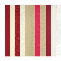 Zestaw kreatywny kartonów A4 – mix czerwony