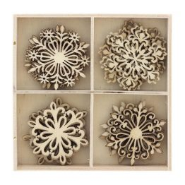 Wooden elements Snowballs