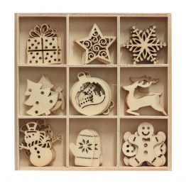 Wooden Elements Christmas 3