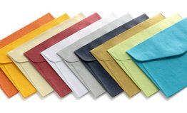 Koperta mix kolorów metalizowanych B7
