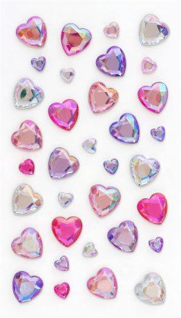 Kryształki Serca różowy