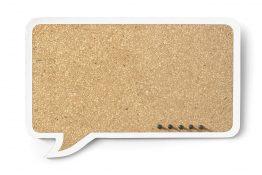 Tablica Dymek prostokątny 44x29cm – biała obwódka