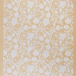 Velour card paper Roses – Kraft